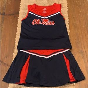 Ole Miss Cheerleader Suit Size Small